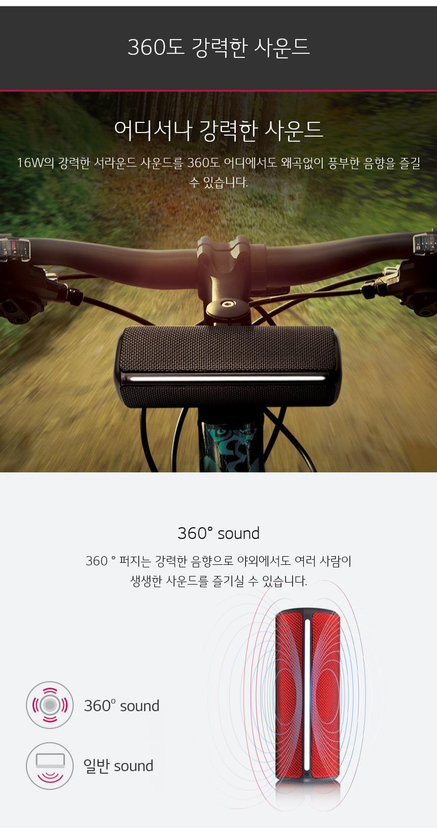 360도 강력한 사운드